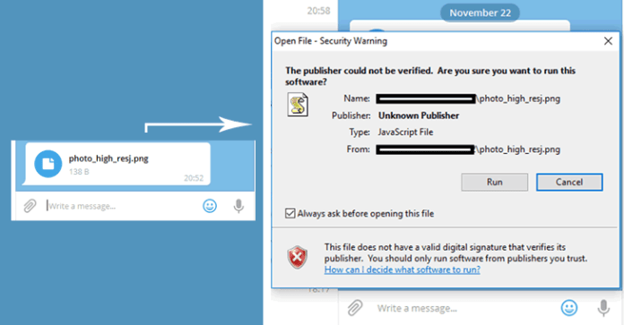 telegram messenger zero day flaw - Hackers Are Exploiting Telegram Messenger Zero Day Flaw To Spread Malware