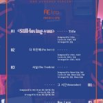 100% release full track list for album 'RE:tro'!