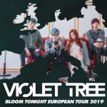 Violet Tree Announce they are bringing their unique Indie sound to Europe