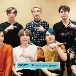 GOT7 give Australian Ahgases a shoutout!