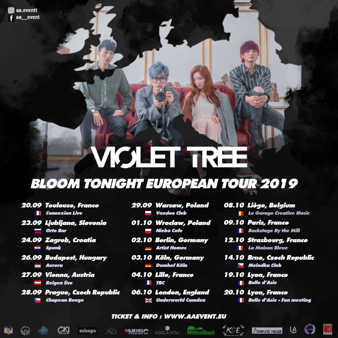 Get ready to win a pair of tickets to see Violet Tree in