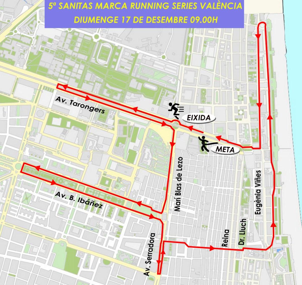 TRÁFICO| Estas son las calles cortadas en València este domingo