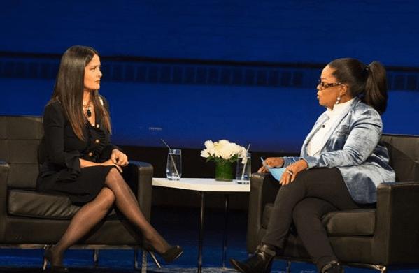 Salma Hayek narra el acoso sexual que recibió por parte de Weinstein