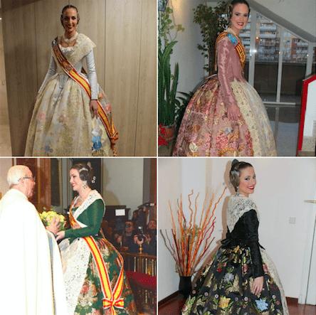 GALERÍA| Estos han sido los trajes elegidos por las Falleras Mayores de València para la #Crida