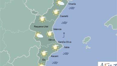 El fin de semana comienza con cielos nubosos y bajada de temperaturas que darán paso a lluvias el sábado