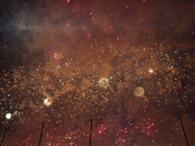 VÍDEO| Así fue la mascletà nocturna de Ricardo Caballer en La Marina de València