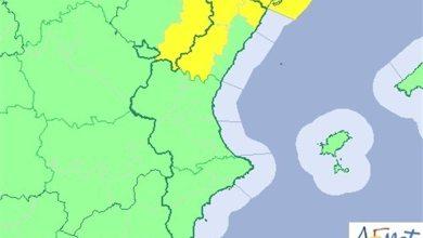 Temperaturas de hasta 22ºC este martes en la Comunitat y aviso amarillo por viento en el norte