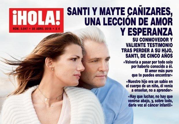 """Santi Cañizares: """"Nuestro hijo era un sabio en el cuerpo de un niño"""""""