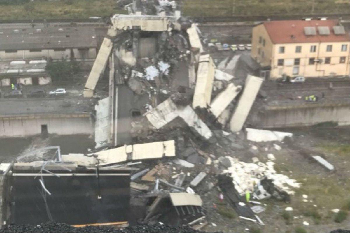 Italia llora a los muertos de la tragedia del puente Morandi de Génova