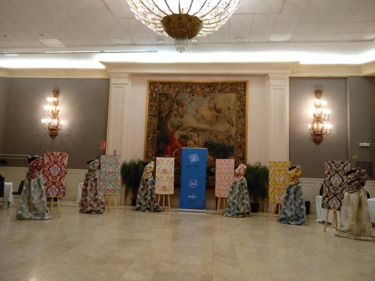 GALERÍA| Así son las telas que lucirá la Corte de Honor de Marina Civera