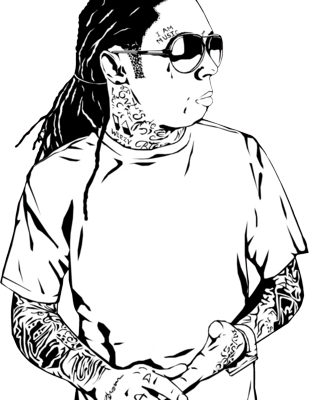 lil wayne coloring pages high quality coloring pages