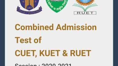 https://admissionckruet.ac.bd Apply Now Online RUET KUET CUET Admission 2020-21