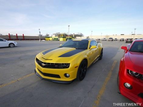 Beyond April 17 Yellow Camaro