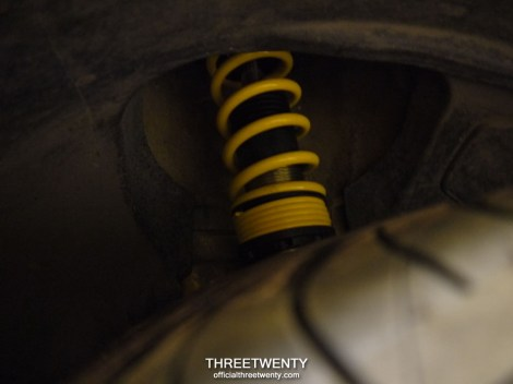 Coilover install 3