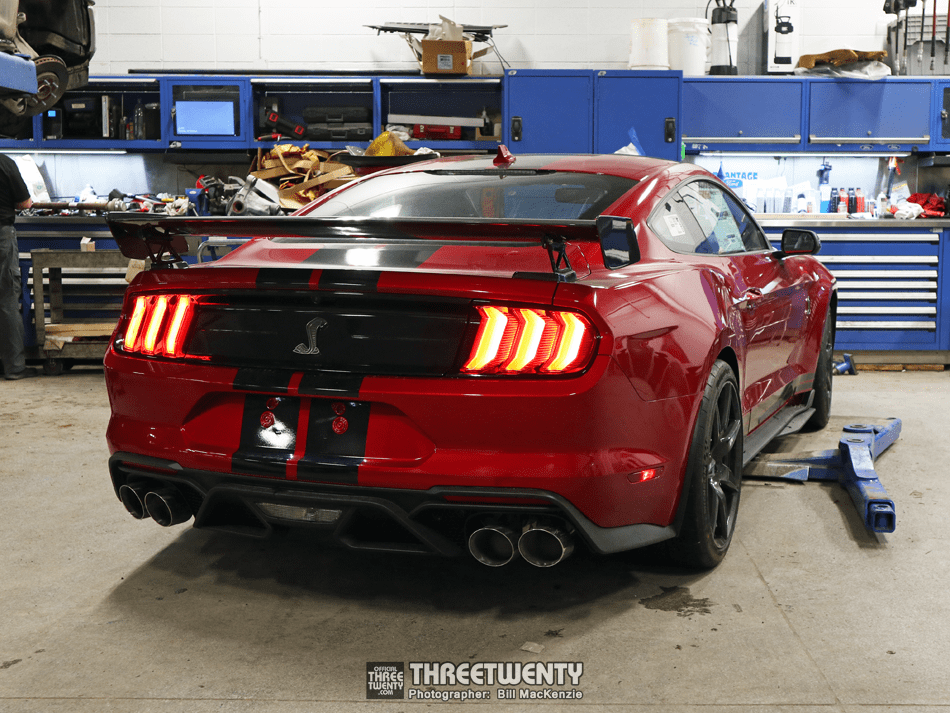 Red GT500 2