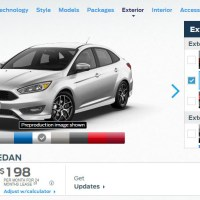 The Mk3 Focus sedan gets some love from Ford!