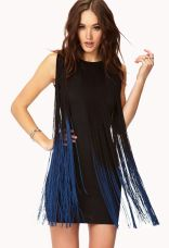 Forever 21. Dancing Queen Fringe Dress.