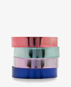 Forever 21. Multicolored Metal Bangles.
