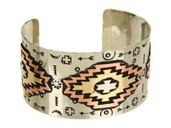 Gypsy Soule. Aztec Cuff Bracelet.