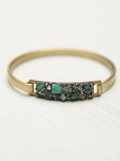 Free People. Marly Moretti Brass Cluster Bracelet.