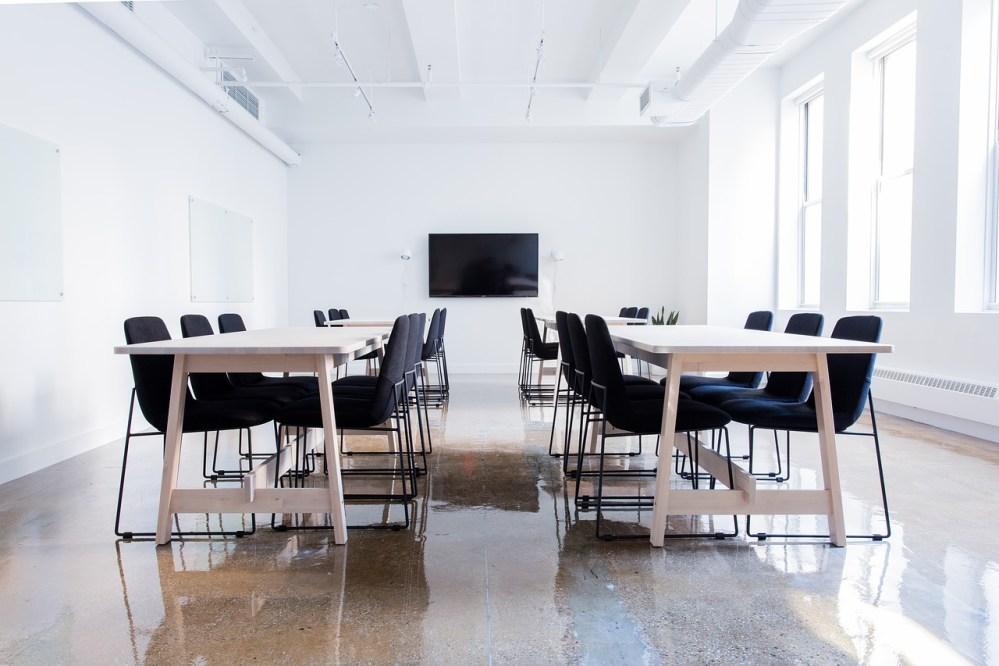 Une salle pour un séminaire