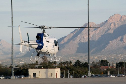 AS-350 Eurocopter. Photo: U.S. Customs and Border Protection