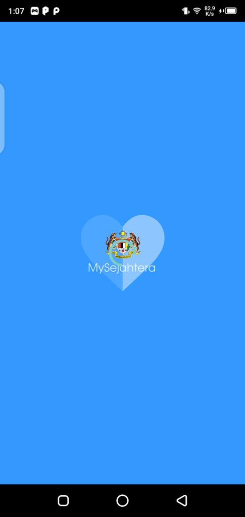 Screenshot of MySejahtera Apk