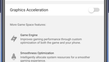 Screenshot of Oppo Game Space Apk