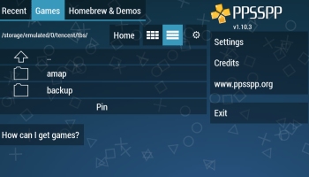 Screenshot of Golden PSP Apk