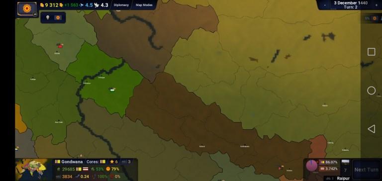 Screenshot of Age of History 2 App