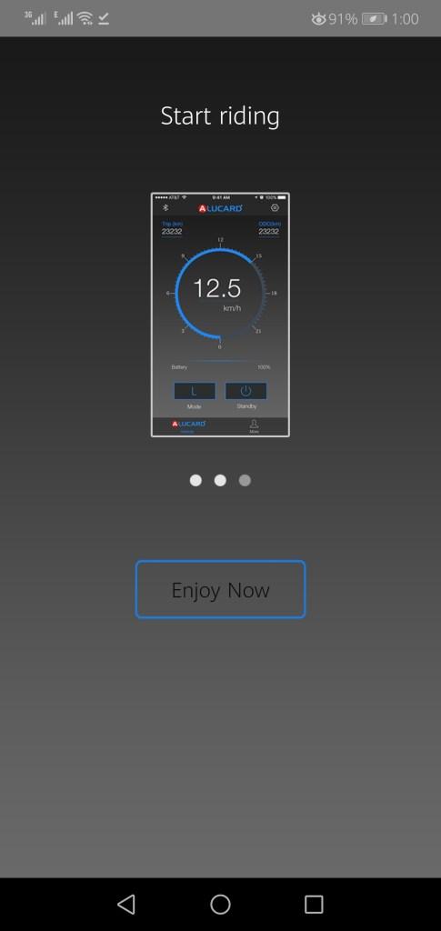 Screenshot of Alucard App Apk