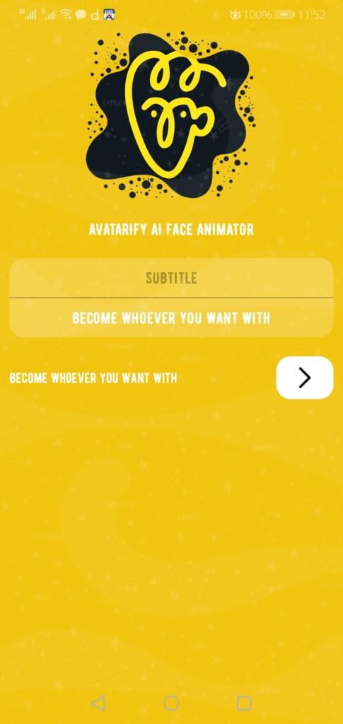 Screenshot of Avatarify Apk