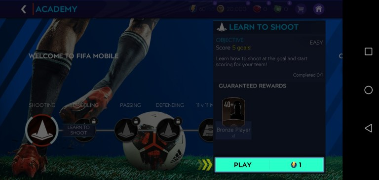 Screenshot of FIFA Mobile 21 Apk