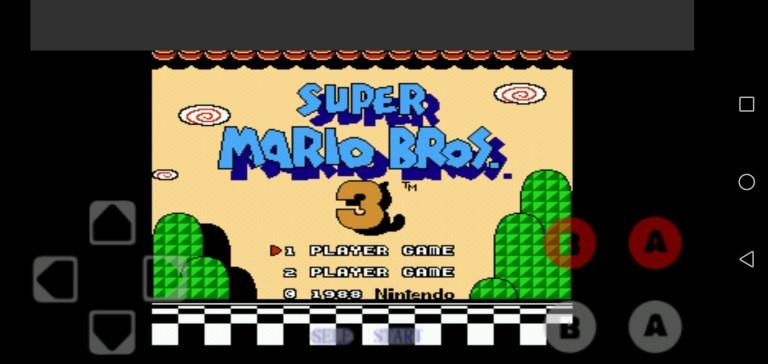 Screenshot of Super Mario 3 Apk
