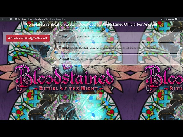 Screenshot of Bloodstained Ritual Of The Night