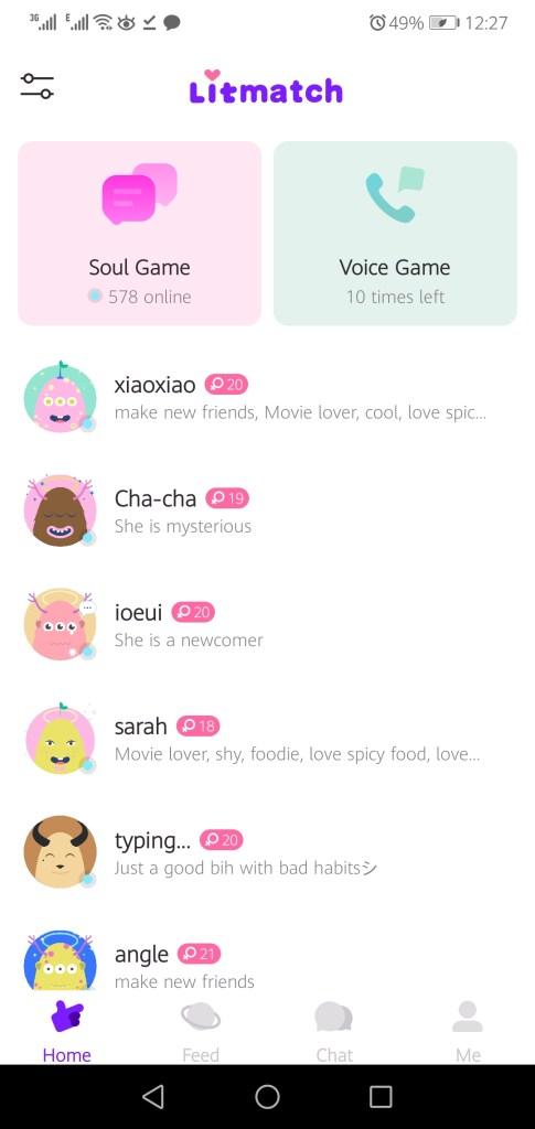 Screenshot Of Litmatch App Apk