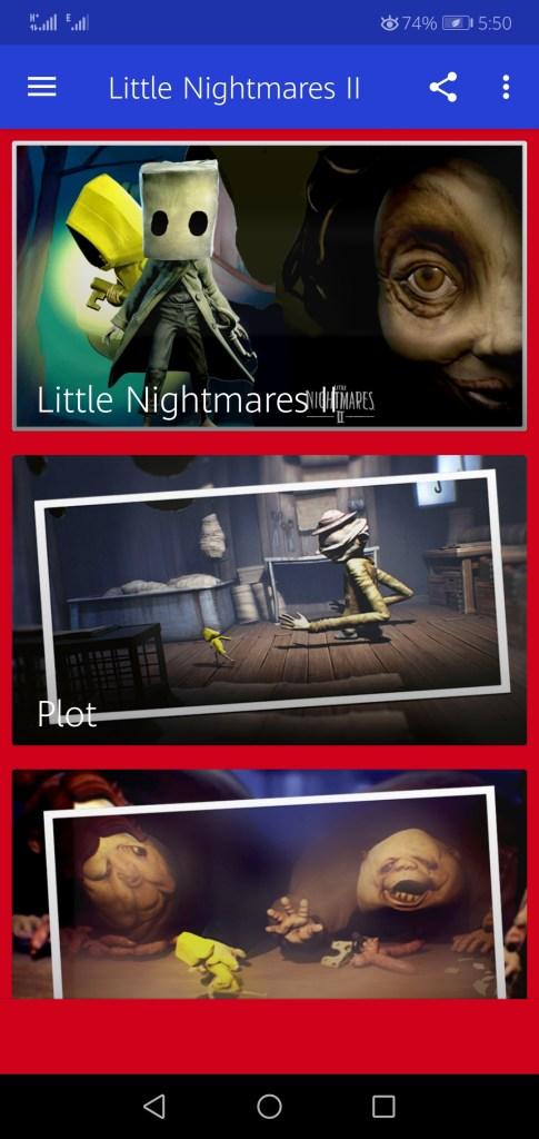 Screenshot of Little Nightmares 2
