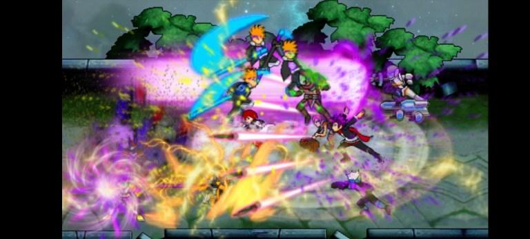 Screenshot of Moba Mugen