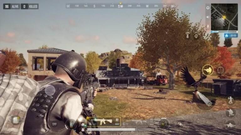 Screenshot of PUBG New State Game