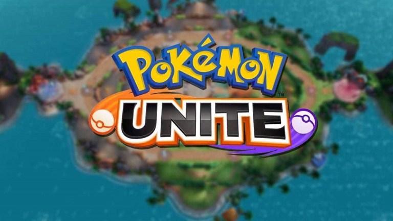 Screenshot of Pokémon Unite