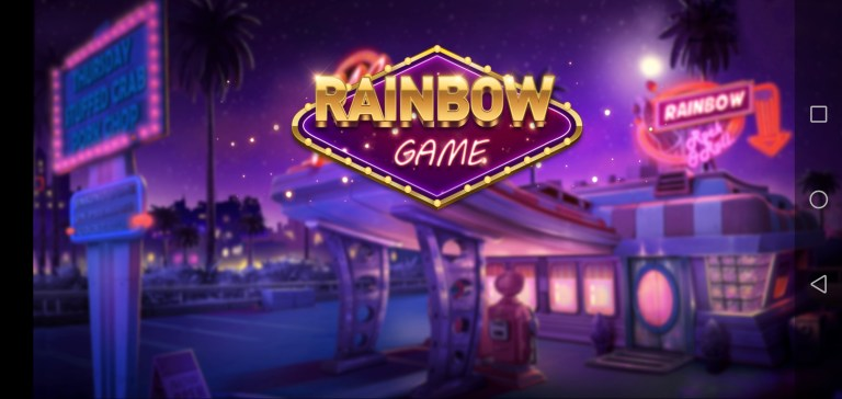 Screenshot of RainBow Game Apk