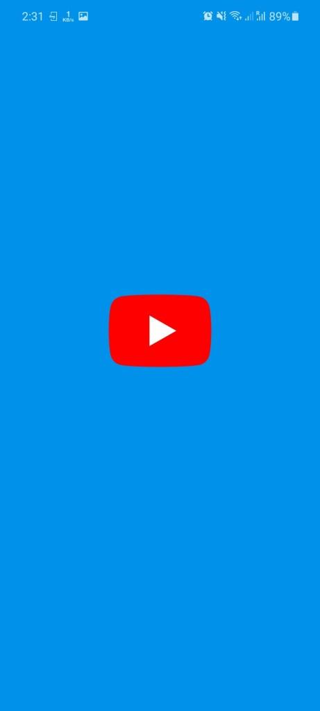 Screenshot of YouTube Blue