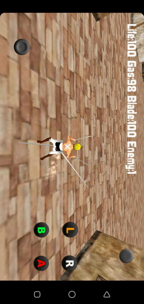 Screenshot of Attack on Titan Gale Wing App