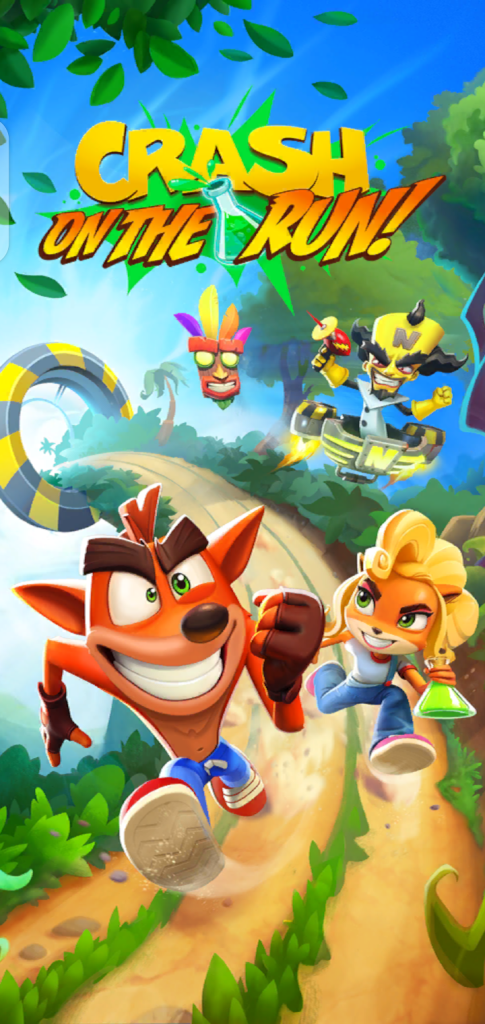 Screenshot of Crash Bandicoot on The Run