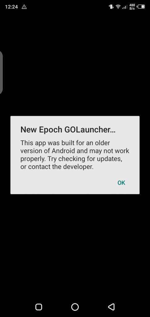 Screenshot of New Epoch