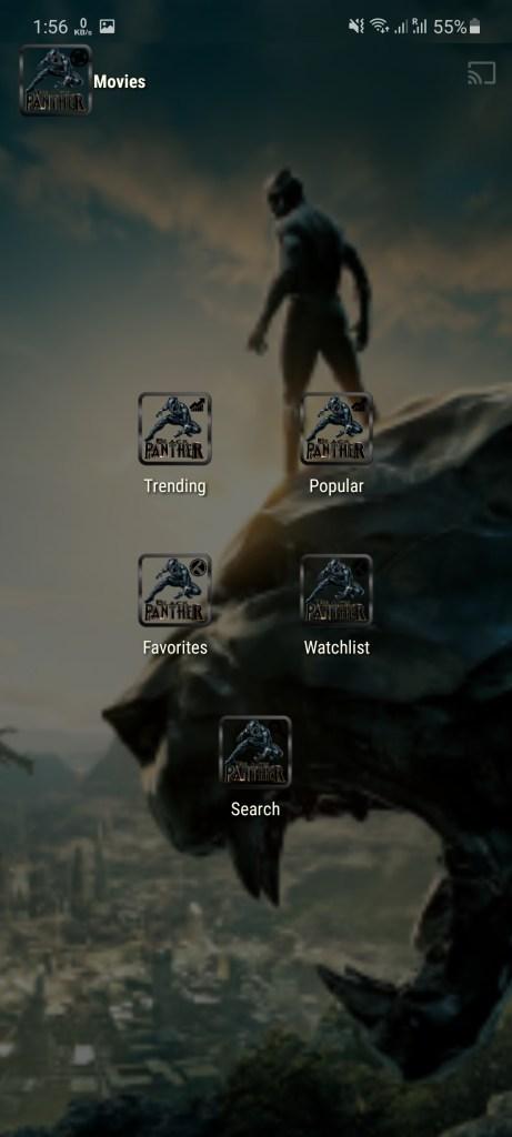 Screenshot of Black Panther Tv
