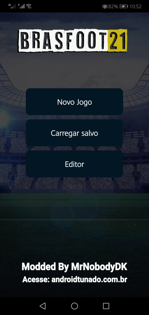 Screenshot of BrasFoot 2021 Premium