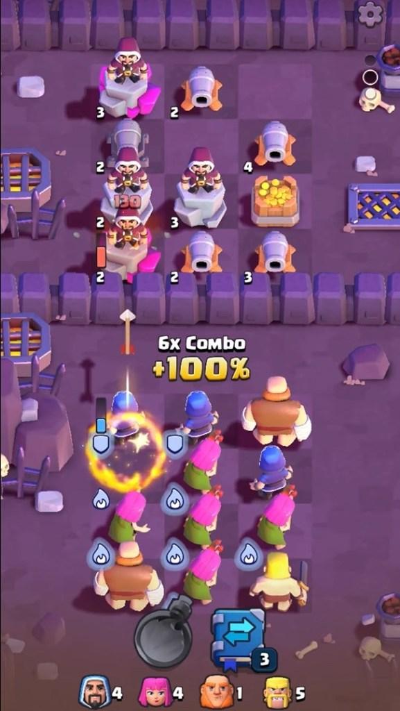 Screenshot of Clash Quest Game