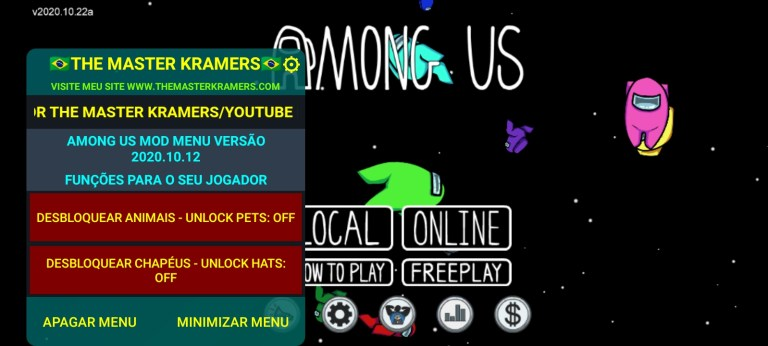 Screenshot of The Master Kramers Game App