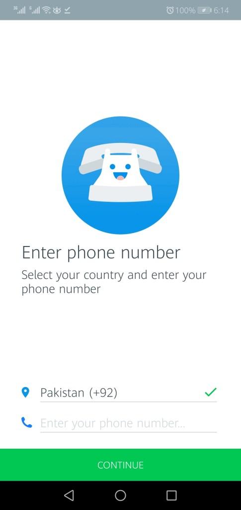 Screenshot of Truecaller Mod App Apk